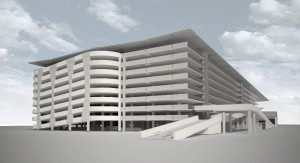 Multi Level Car Park at Brisbane Airport Domestic Terminal (in association with Robert Bird Group)